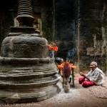 Rencontre à Preah Khan, Angkor, Cambodge
