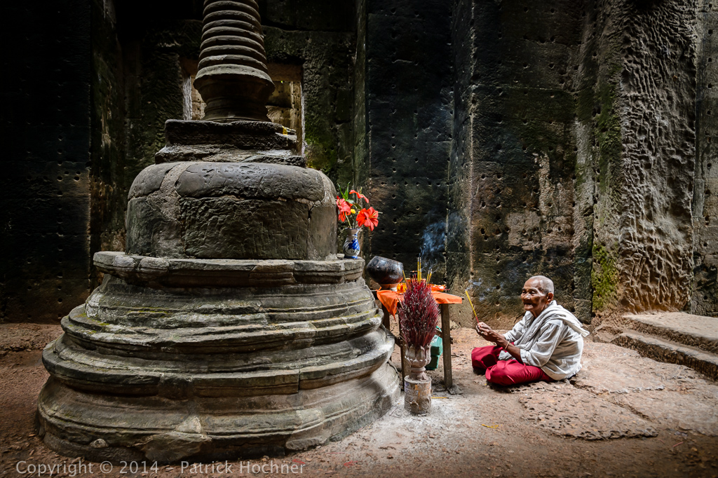 Encounter in Preah Khan, Angkor, Cambodia