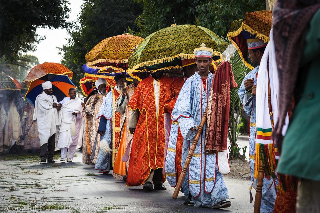 Célébration du Timkat, Mekele, Ethiopie