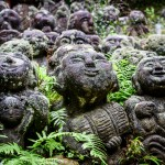 The Rakans of Otagi Nembutsu Temple, Kyoto