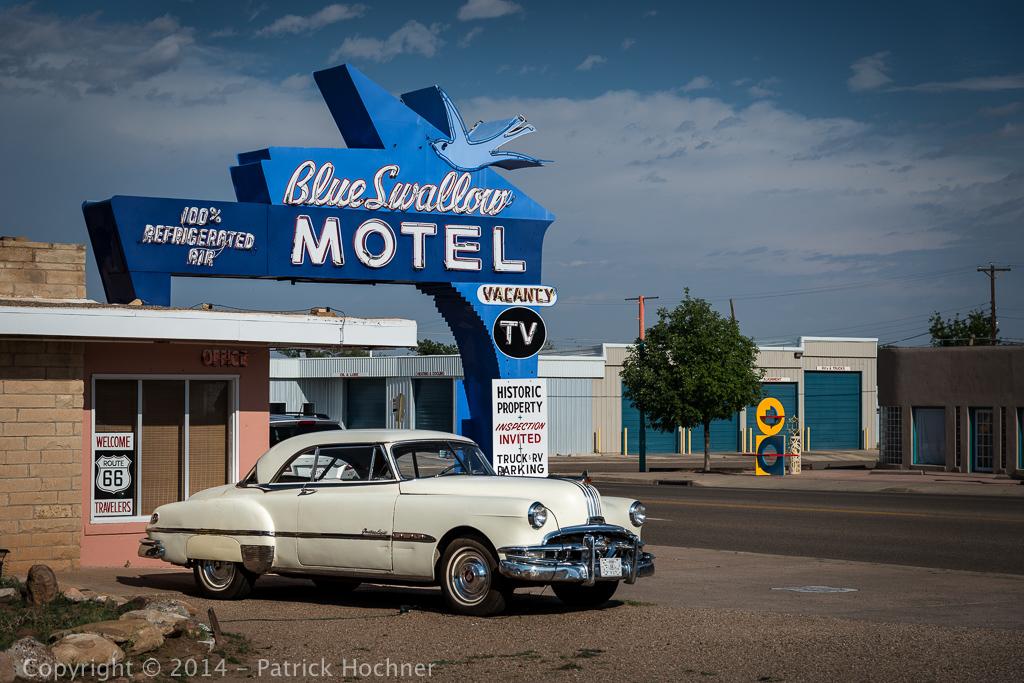 Traveling the Route 66, Tucumcari, USA