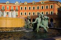 La fontaine du soleil, Nice, France