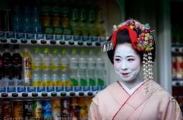 Maiko Taiken around Kyoto, Japan