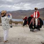 Chinese tourist in Tibet