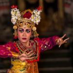 Danse Legong Lasem, Ubud, Bali
