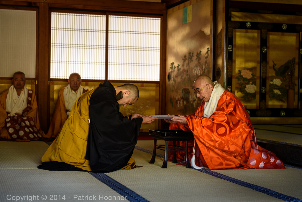 Ordination of a Priest, Kyoto