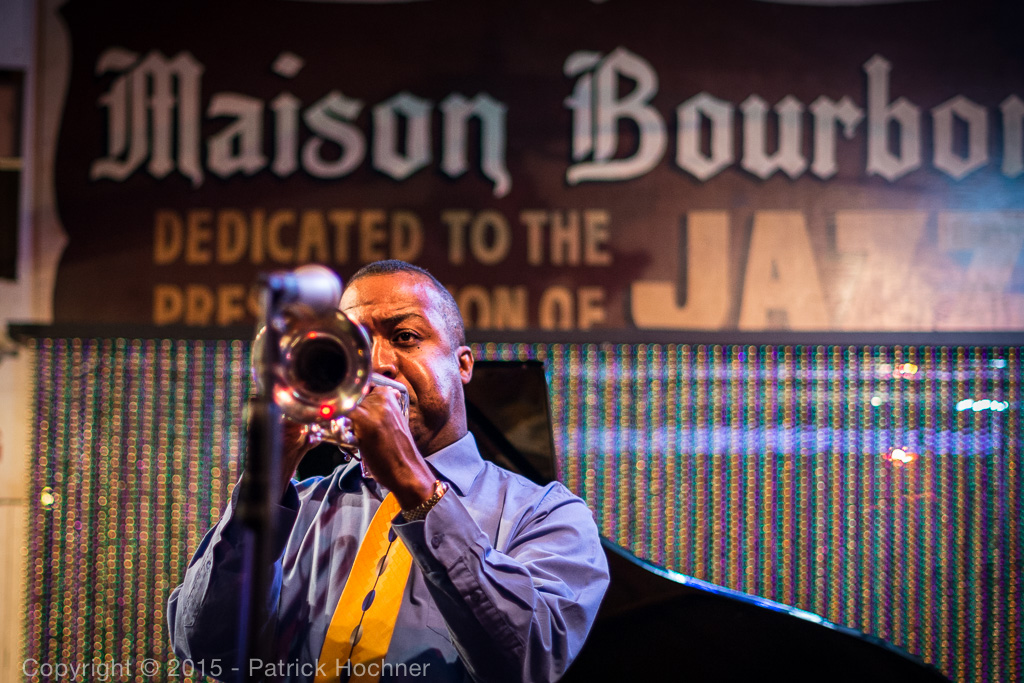 Listening to Jazz, New Orleans, Louisiana