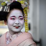 Maiko in Miyagawa-Cho, Kyoto