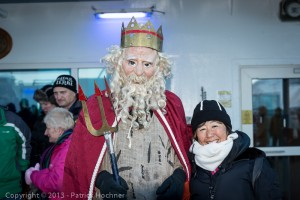 Artic Circle passage ceremony, Hurtigruten, Norway