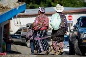 Traditional maya dress, Solola, Guatemala