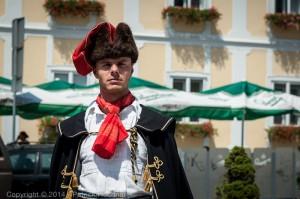 Membre du Régiment Kravat, Croatie