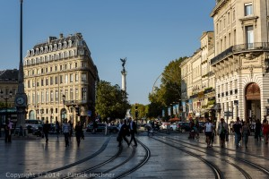 Behind Place de l'Opéra, Bordeaux