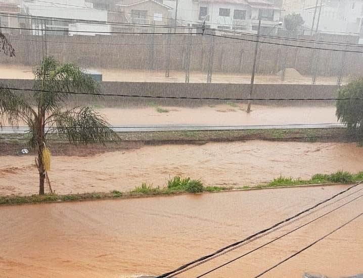 Chuva Patos de Minas