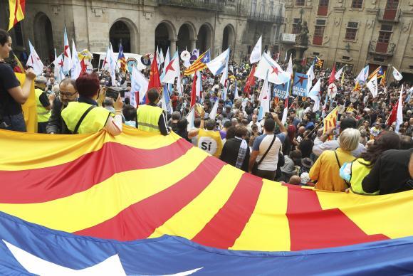 Catalunha protesto