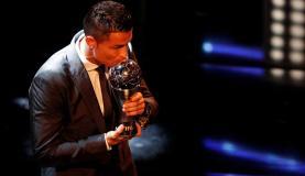O português Cristiano Ronaldo, do Real Madrid, foi escolhido pela Fifa o melhor jogador do mundo (Reuters/Direitos Reservados)