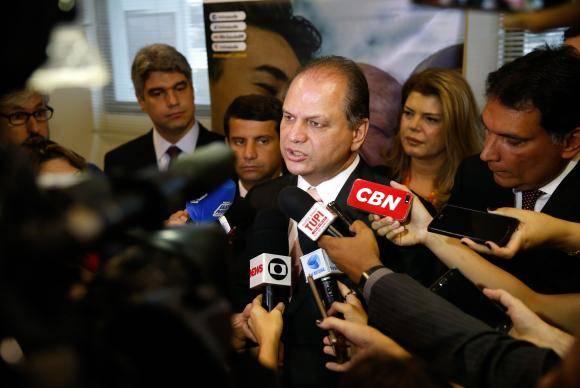 Rio de Janeiro - O ministro da Saúde, Ricardo Barros, fala durante inauguração do Centro de Diagnóstico do Câncer de Próstata, no Hospital do Câncer II (Tânia Rêgo/Agência Brasil)