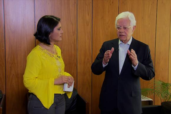 Brasília - Moreira Franco concede entrevista ao programa Nos Corredores do Poder, da TV Brasil