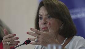 Brasília A ministra interina do MEC, Maria Helena Guimarães, fala durante a divulgação de dados do Censo Escolar de 2017 ( José Cruz/Agência Brasil)