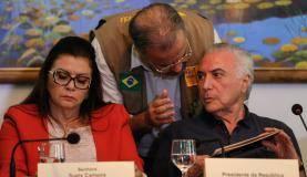 Boa Vista - Presidente Michel Temer conversa com o Ministro da Defesa, Raul Jungmann (Beto Barata/PR)