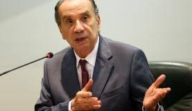 Brasília - O ministro das Relações Exteriores, Aloysio Nunes, durante declaração à imprensa após 51 Reunião do Conselho do Mercado Comum do Mercosul (Marcelo Camargo/Agência Brasil)