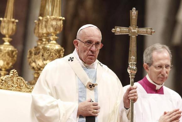 Papa Francisco em celebração para lembrar o Dia Mundial da Paz (Agência Lusa/Direitos Reservados)