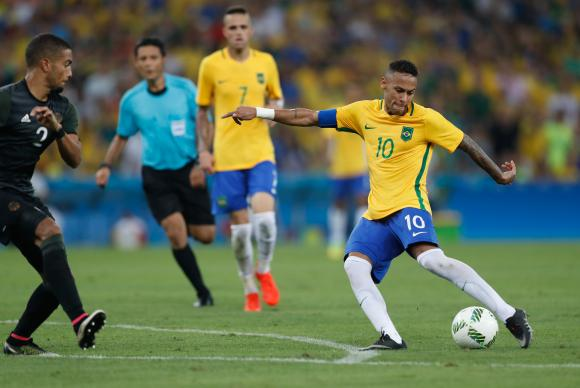 Rio de Janeiro - A seleção brasileira de futebol enfrenta a Alemanha, no Maracanã, em busca da medalha de ouro nas Olimpíadas Rio 2016 (Fernando Frazão/Agência Brasil)