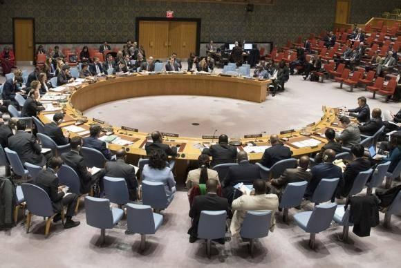 A sessão do Conselho de Segurança foi realizada a pedido da Rússia