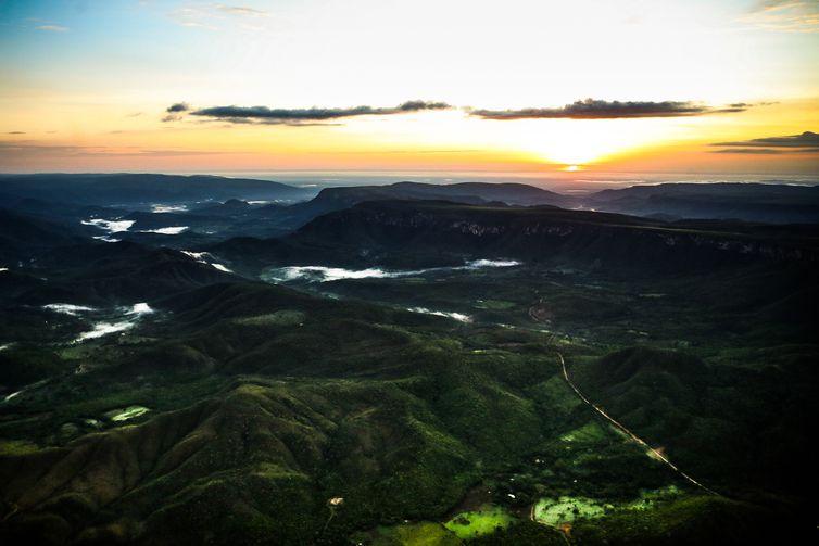 Alto Paraíso de Goiás (GO) - Vista de área pertencente à proposta de ampliação do Parque Nacional da Chapada dos Veadeiros, no município de Alto Paraíso (Marcelo Camargo/Agência Brasil)