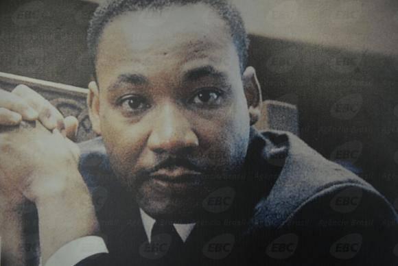 Há 50 anos o líder Martin Luther King foi assassinado. Ele foi um dos principais defensores dos direitos civis dos negros nos Estados Unidos (Arquivo/Fernando Frazão/Agência Brasil)
