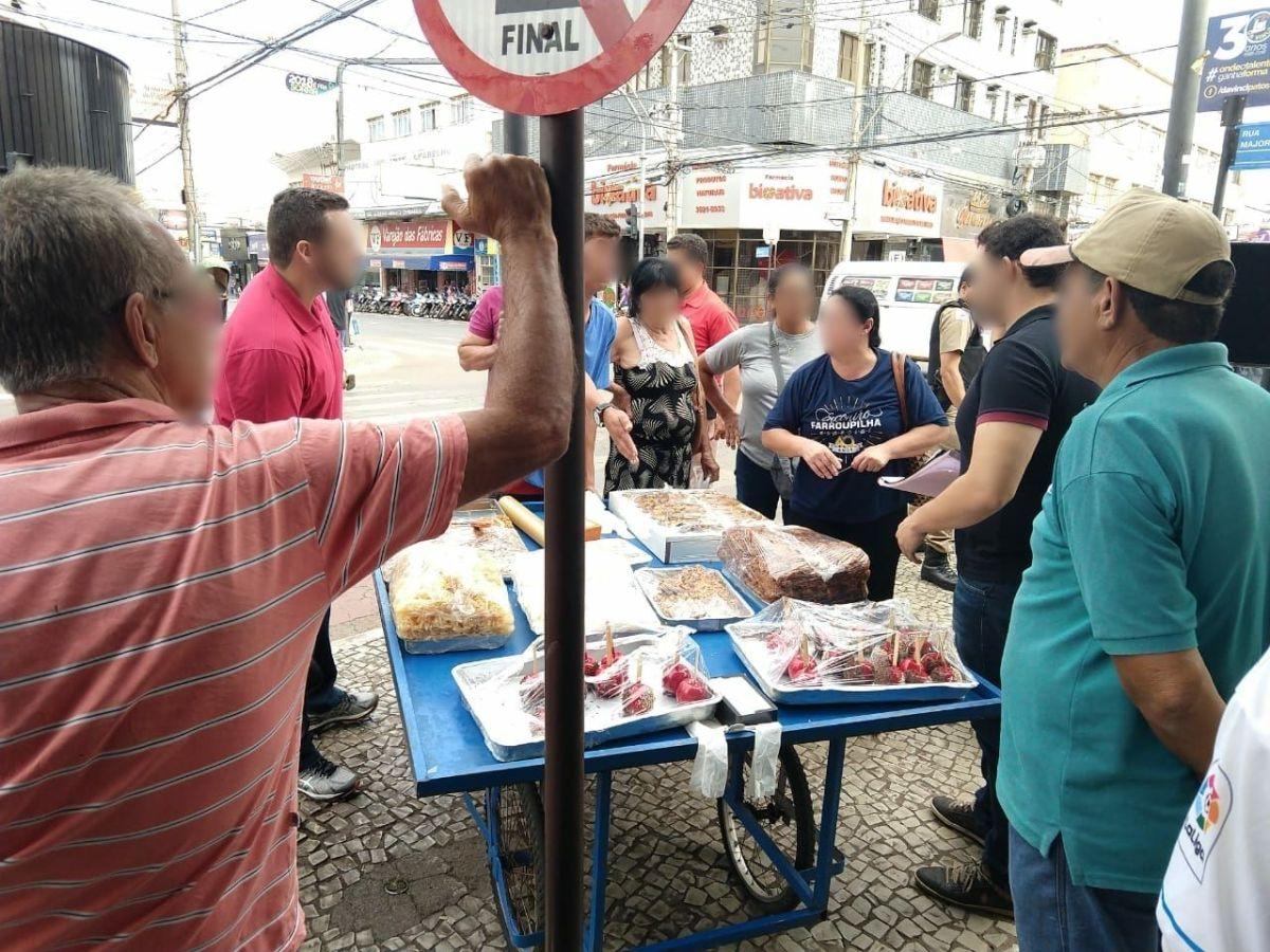 Comércio ambulante em Patos de Minas