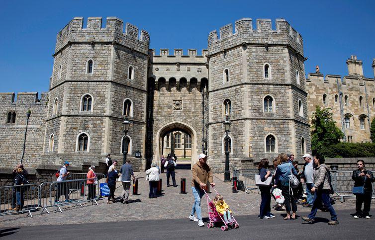 Castelo de Windsor, onde será realizado o casamento de Harry e Meghan Markle