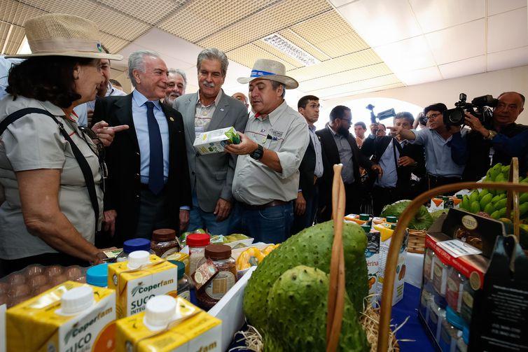 O presidente Michel Temer visita a 25ª Feira Internacional de Tecnologia Agrícola em Ação (Agrishow), em Ribeirão Preto (SP).