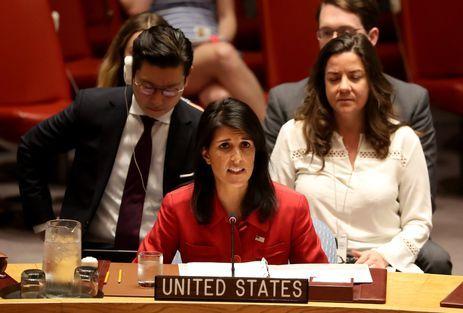 A embaixadora Nikki Haley disse que o seu país está preparado para agir militarmente contra a Coreia do Norte se for preciso