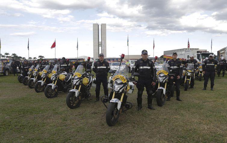 O ministro da Segurança Pública, Raul Jungmann participa da abertura da Operação Tiradentes II, em que órgãos de Segurança Pública realizarão ações de segurança por 24 horas ininterruptas
