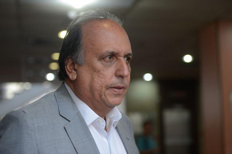 Rio de Janeiro - Governador Luiz Fernando Pezão depõe na Justiça Federal como testemunha de defesa de Sérgio Cabral (Fernando Frazão/Agência Brasil)