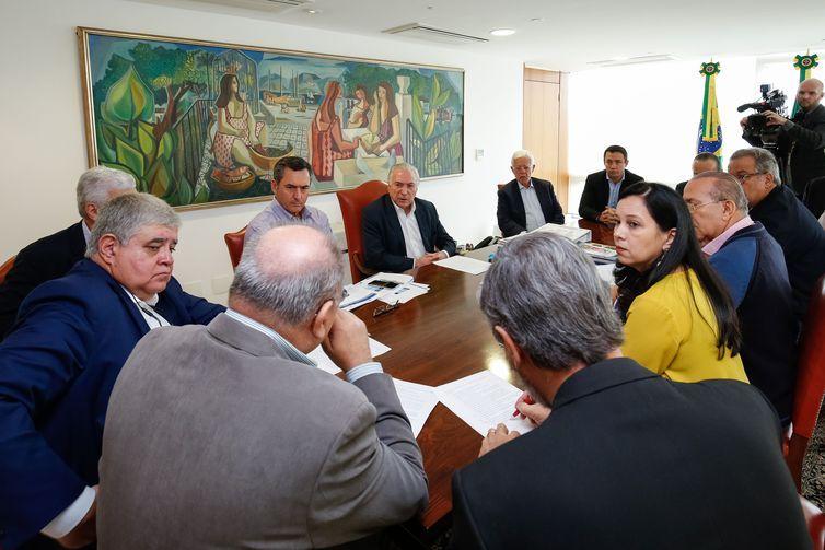 Presidente Michel Temer, durante reunião de Monitoramento de Prioridades Estratégicas de Abastecimento