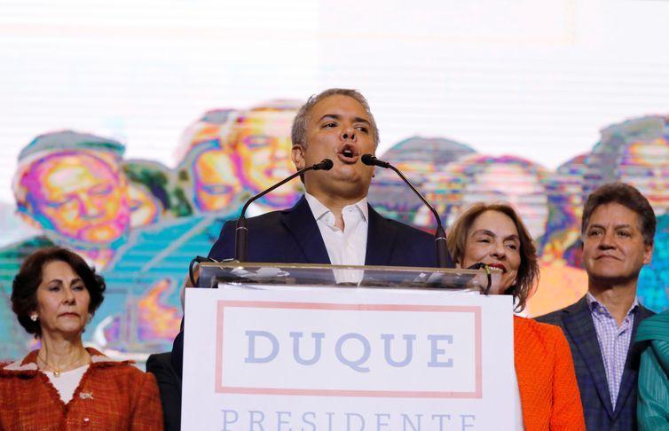 O presidente eleito da Colômbia, Ivan Duque (Reuters/Nacho Doce/Direitos Reservados)