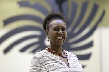 A pesquisadora Fernanda Lopes participa da 4ª Conferência Nacional de Promoção da Igualdade Racial (Conapir), no Centro Internacional de Convenções do Brasil.