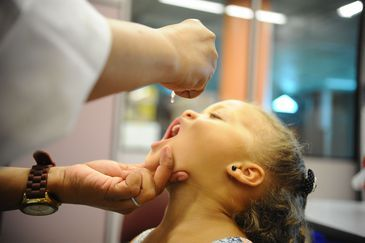 Fiocruz promove hoje (08), campanha de vacinação contra sarampo e paralisia infantil. Além da vacinação há diversas atividades educativas promovidas pela instituição (Tomaz Silva/Agência Brasil)