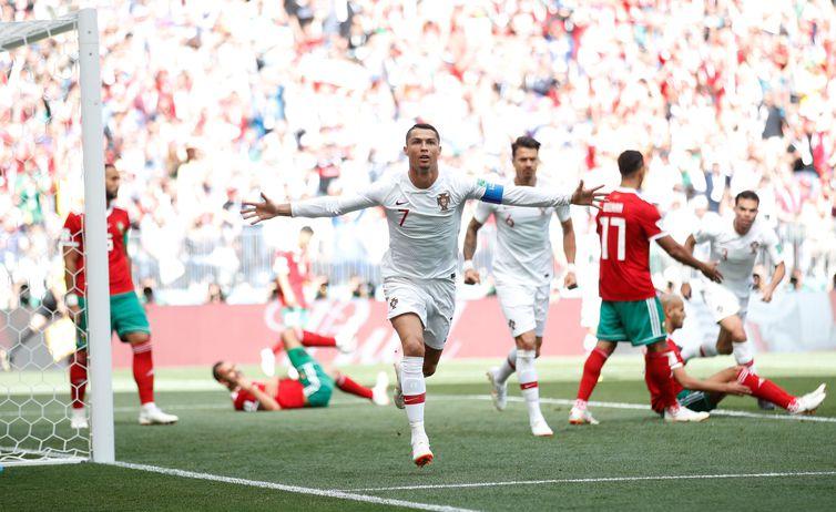Portugal e Morrocos se enfrentam na Copa do Mundo
