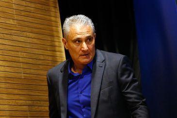 O técnico da seleção brasileira Tite anuncia os jogadores convocados para disputar a Copa do Mundo da Rússia 2018.