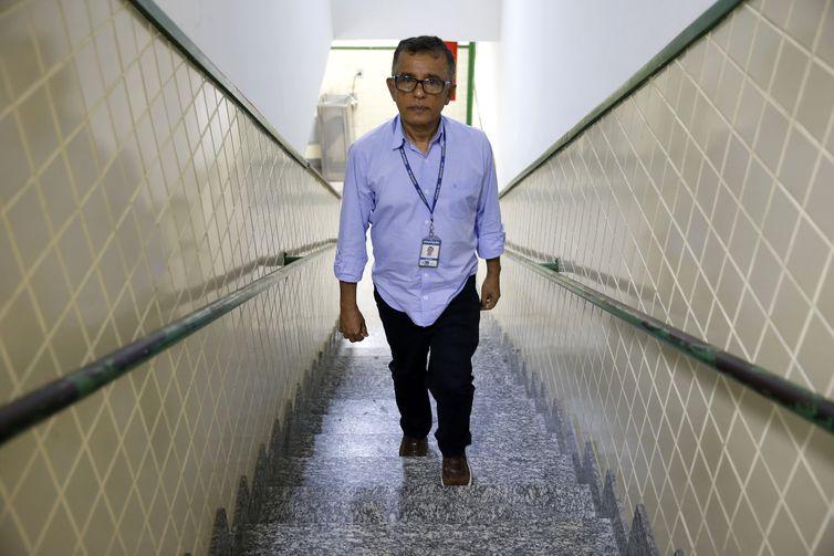 Rio de Janeiro - Diretor do Colégio Estadual Chico Anysio, Willmann Costa