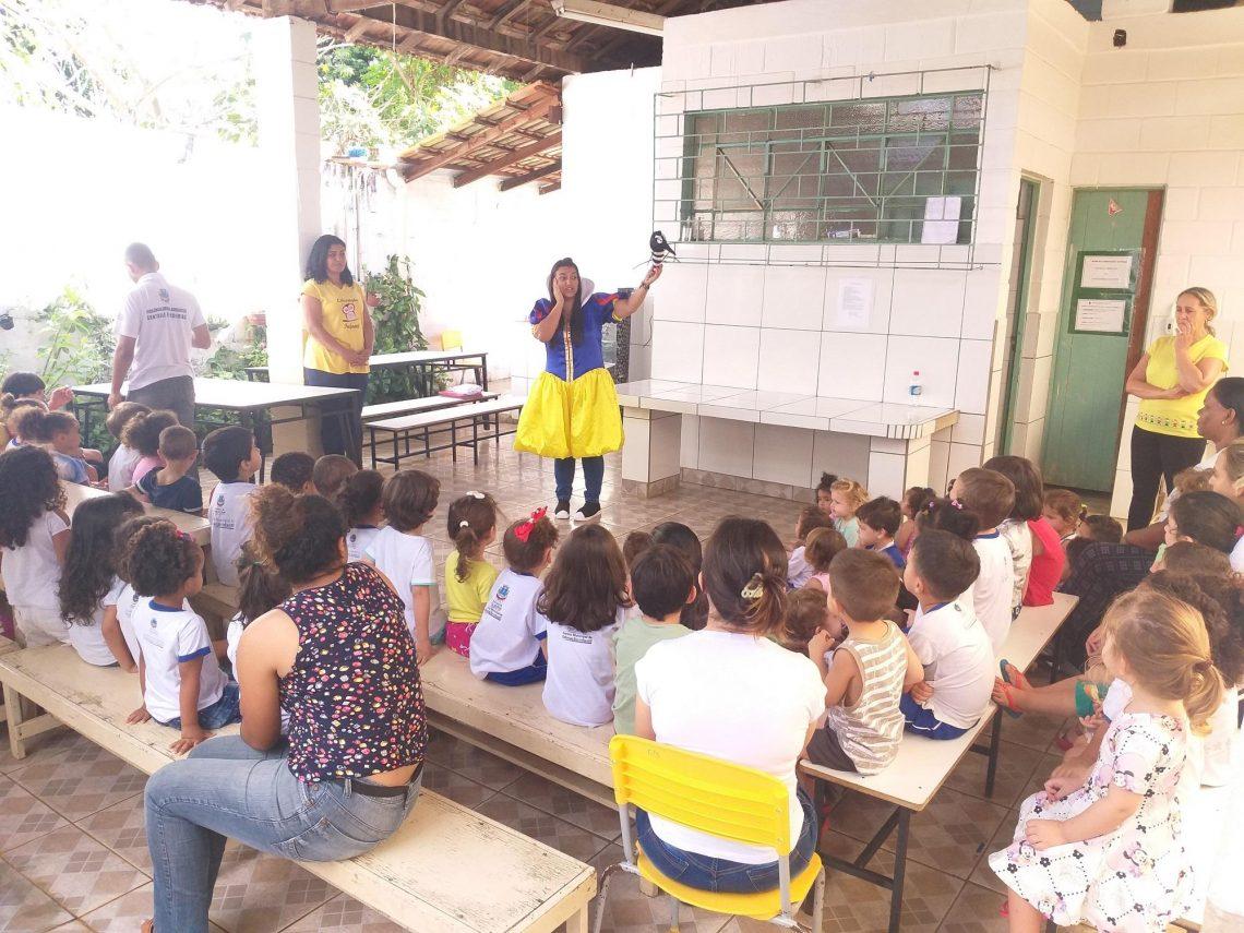 Conscientização sobre a dengue nas Escolas de Patos de Minas