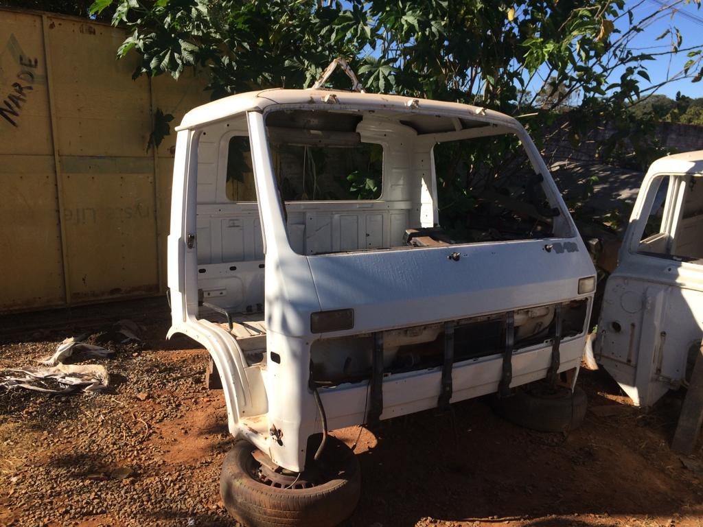Parte de caminhão furtado é recuperado pela Polícia Civil de Patos de Minas