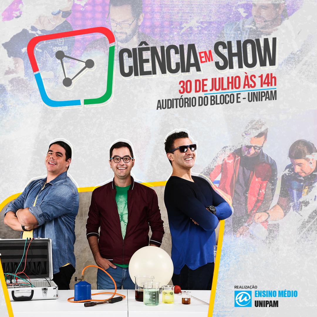 Ciência em Show estará em Patos de Minas