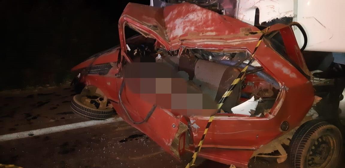 BR 365: Dois homens morrem em acidente, próximo a Patrocínio-MG