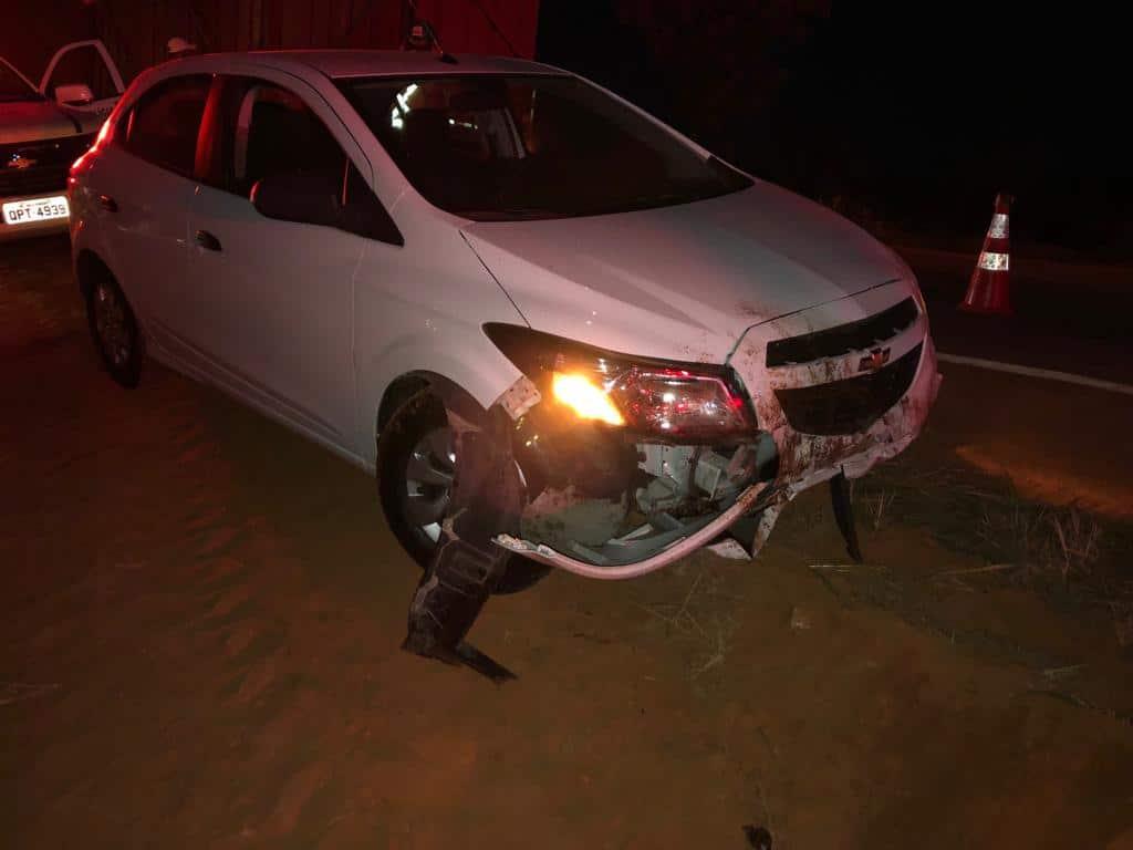 Acidente na MG 176 entre Luz e Dores do Indaiá