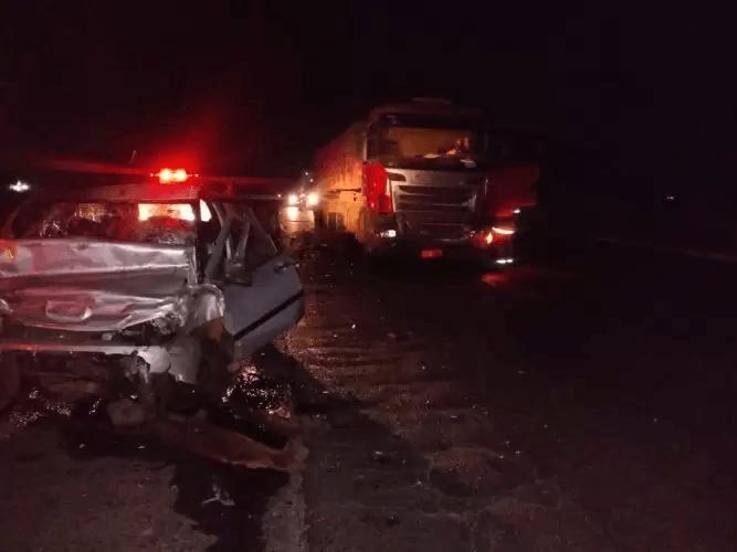 Mulher morre em acidente na BR-452 em Uberlândia