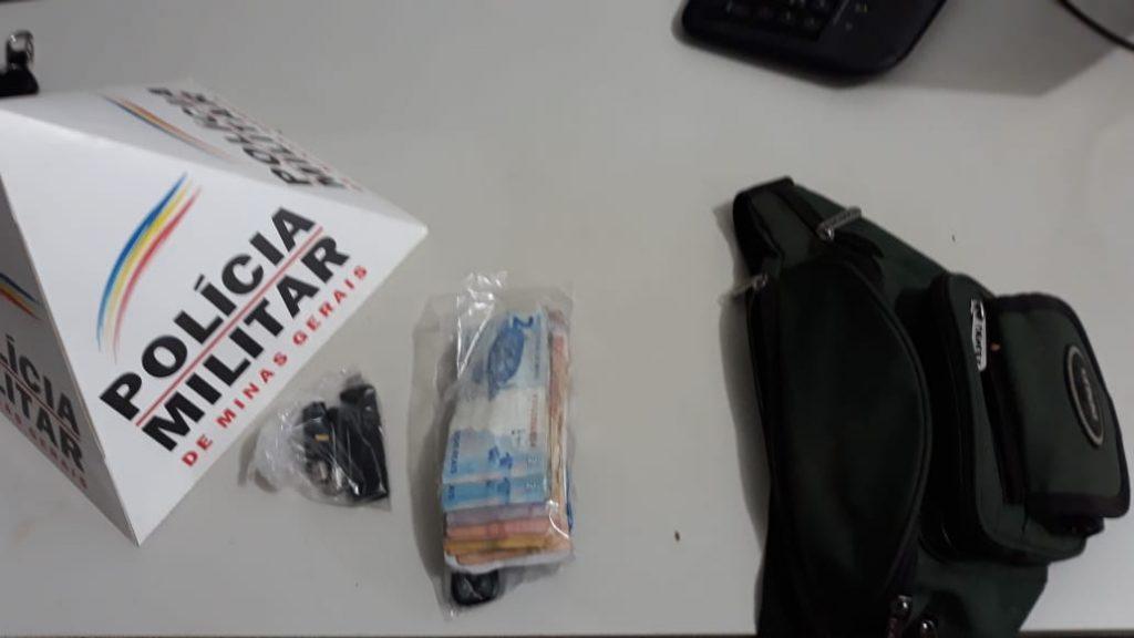 PM prende suspeitos de furtar pochete com R$ 30 mil em São Gotardo