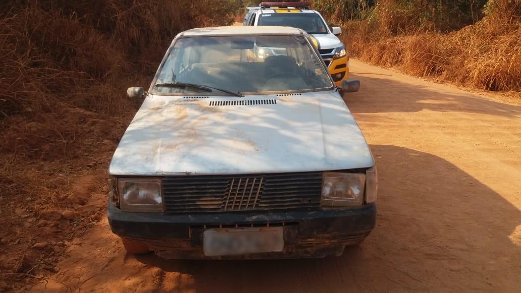 Acidente em Patos de Minas com motorista preso